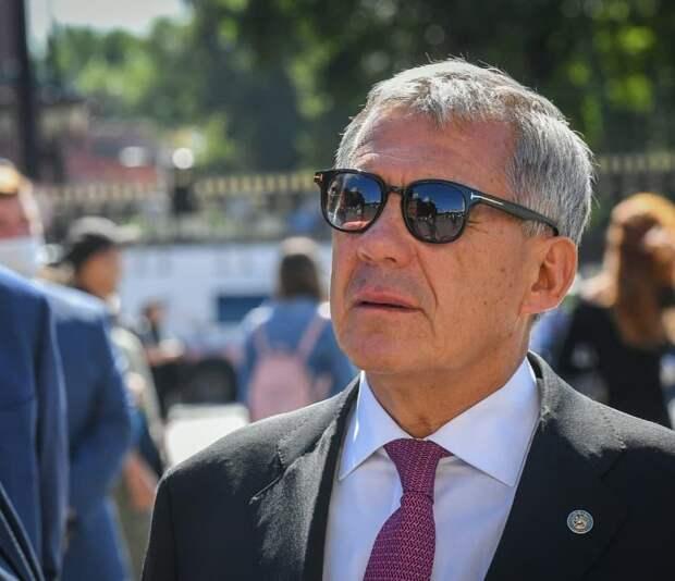 Минниханов лидирует на выборах главы Татарстана