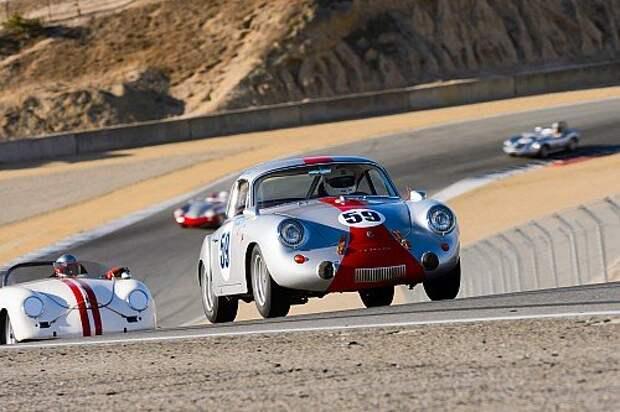 Ралли Porsche Rennsport Reunion V: старикам тут место