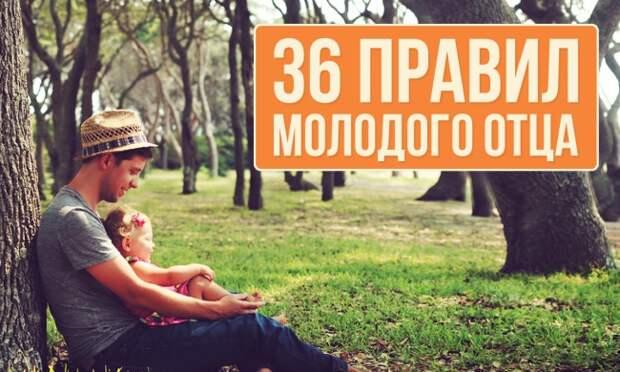 36 правил молодого отца
