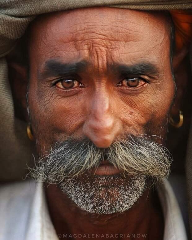 Гипнотические портреты из Индии