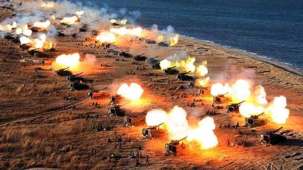 Ударный кулак Сонгун. Артиллерия КНДР