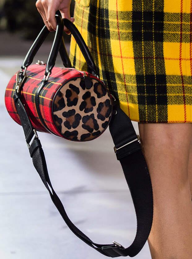 Леопардовая сумочка