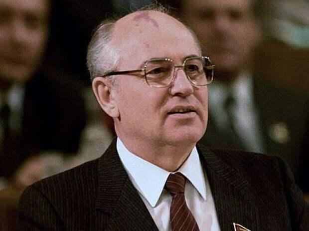Последний генсек КЦ КПСС Михаил Горбачев