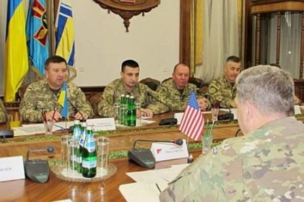 Американская военщина снова в Киеве. Ждём эскалацию на фронте?