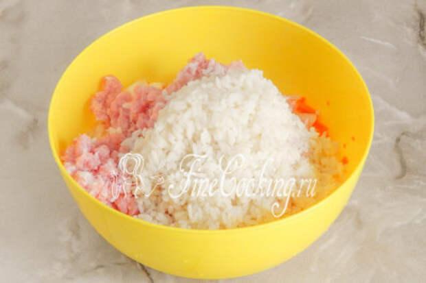 Пора добавлять полуготовый рис
