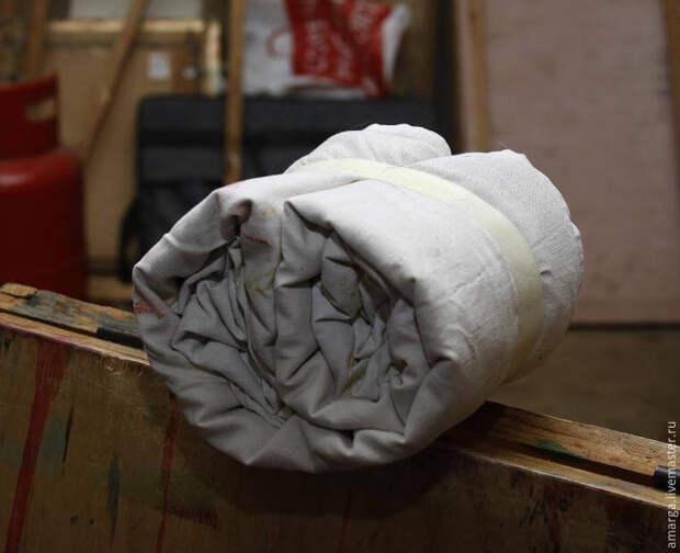 запаривание батика