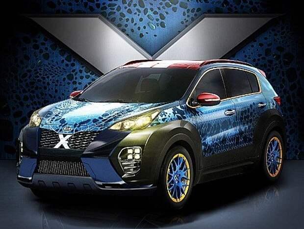 Kia Sportage X-Car (1)