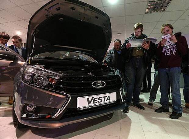 Lada Vesta car launched in Russia