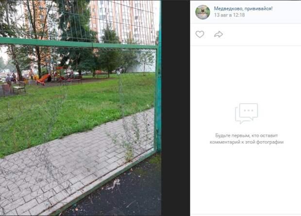 Вандалы разгромили спортивную площадку на Молодцова