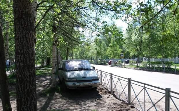 20 машин, которые замуровали дорожные демоны авто, асфальт, дорожные работы, замурованные, парковка