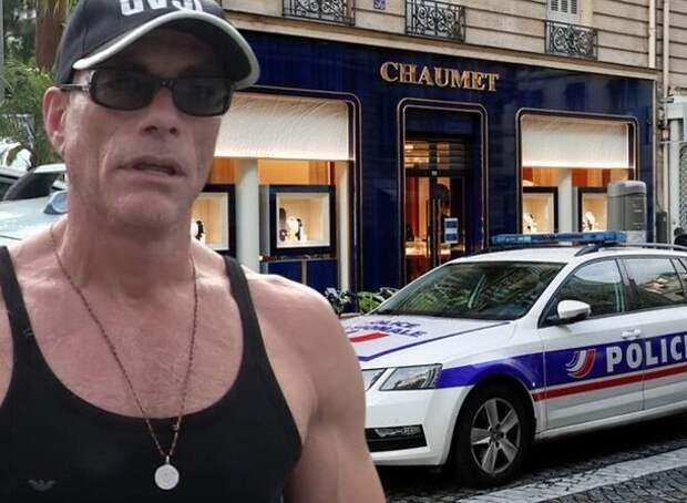 Актер Жан-Клод Ван Дамм стал невольным помощником ограбления