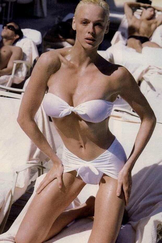 Бригитта Нильсен – очаровательная «амазонка» из 1980-х.