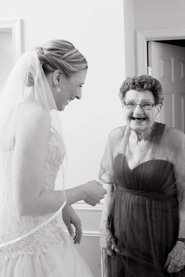 89-летняя подружка невесты сделала свадьбу по-настоящему особенной и незабываемой
