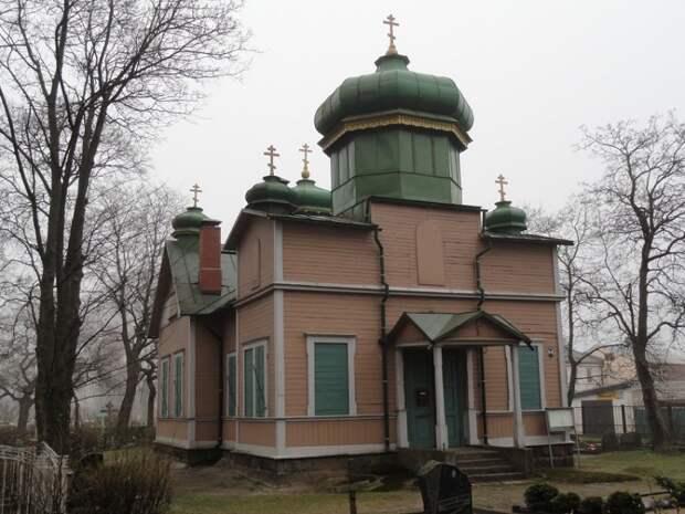 Храм Троицы Живоначальной ДПЦ. Лиепая