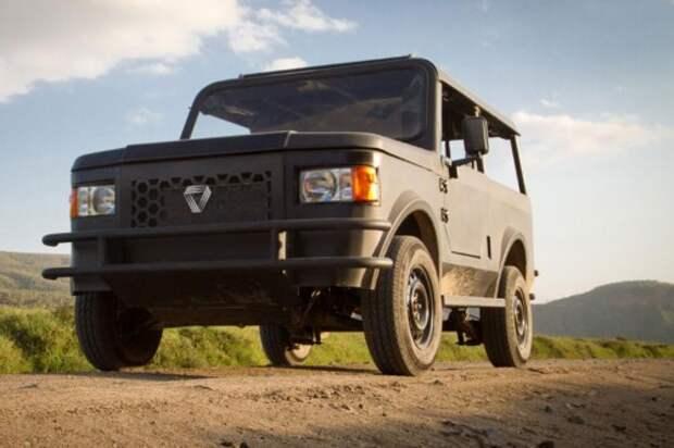 Mobius II — самый популярный автомобиль в Кении