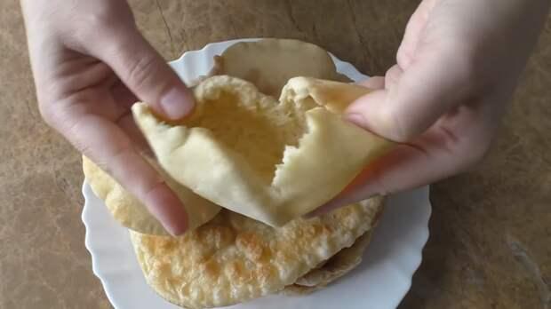 Самая пышная и нежная лепешка / Печем и жарим / Тесто на йогурте Лепешки, Вкусно, Приготовление, Тесто, Другая кухня, Рецепт, Видео, Длиннопост