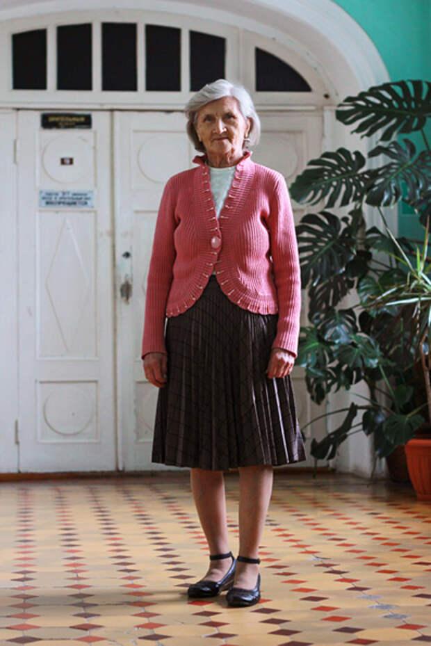 Любовь Парфирьевна 90 лет 14