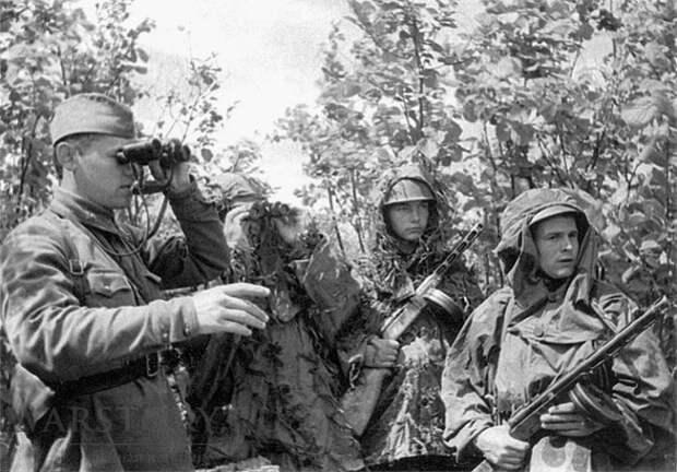 Как готовились советские разведчики перед переходом линии фронта