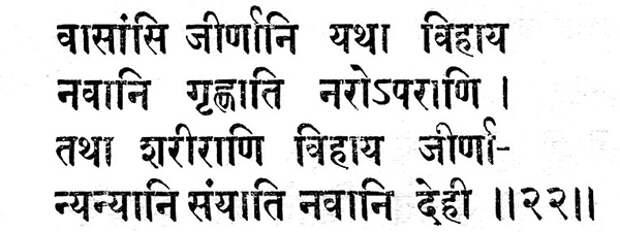 О языке Древней Индии