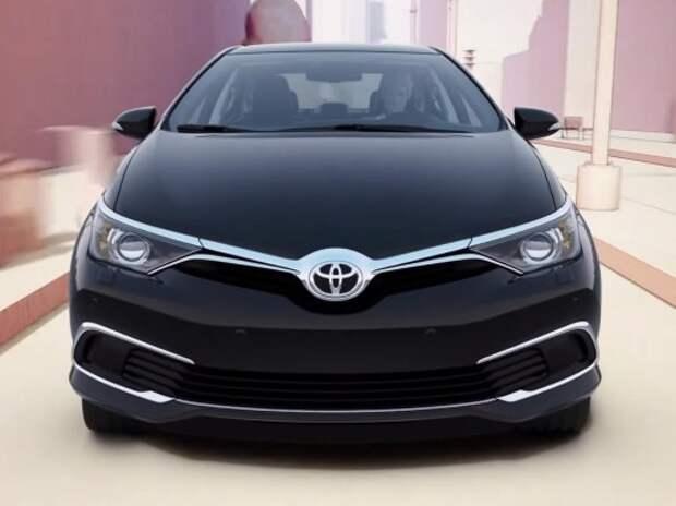 Toyota засветила обновленный седан Corolla (ВИДЕО)
