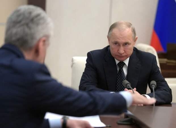 """Путин мягко посоветовал Собянину: """"Не прибедняйтесь"""""""