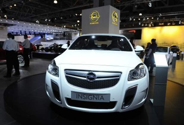 Opel Insignia на Московском автосалоне