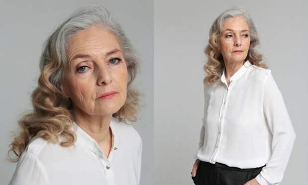 Россиянка стала моделью в 70 лет: она участвует в модных показах и снимается для глянцевых журналов
