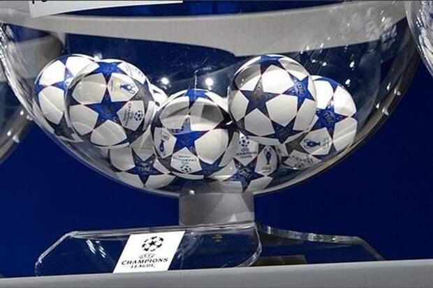 Состоялась жеребьевка 1/2 финала Лиги чемпионов