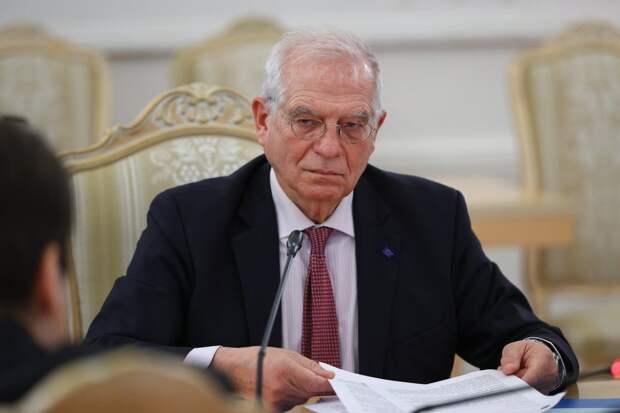 В МИД РФ удивлены контрастом заявлений Борреля после возвращения из Москвы