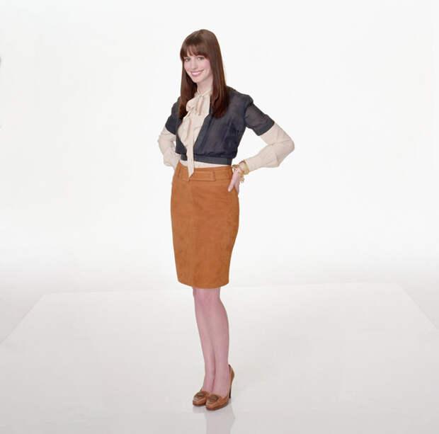 Энн Хэтэуэй (Anne Hathaway) в фотосессии для фильма Devil Wears Prada (2006), фото 3