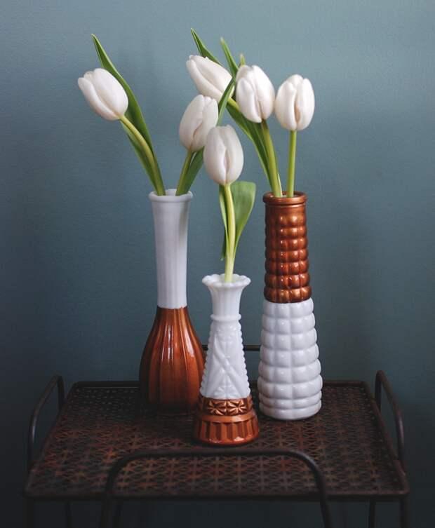 Стильные вазы из старых (Diy)
