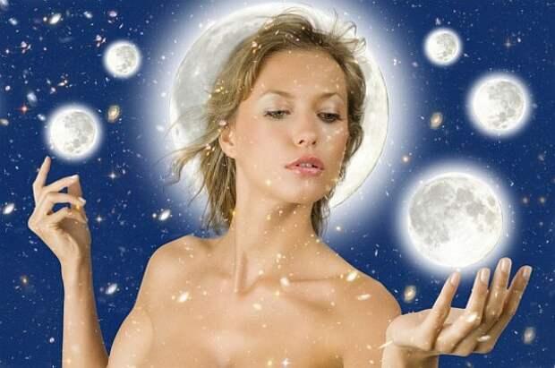 Женщина и Луна Школа Преображения Елены Леваи