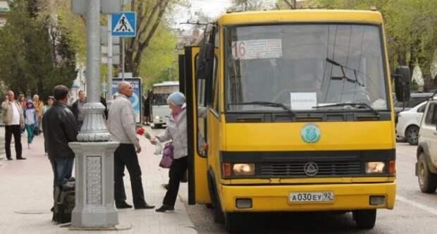 Севастопольцы и общественный транспорт