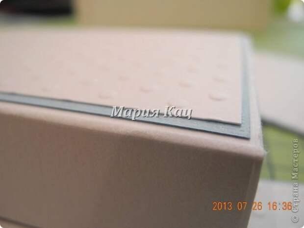 """Коробочка для памятных вещичек малыша """"Мамины сокровища"""". Мастер-класс"""