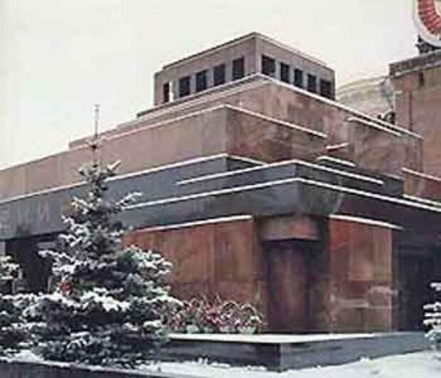 Мавзолей - это зиккурат, а Ленин - заклятый предмет
