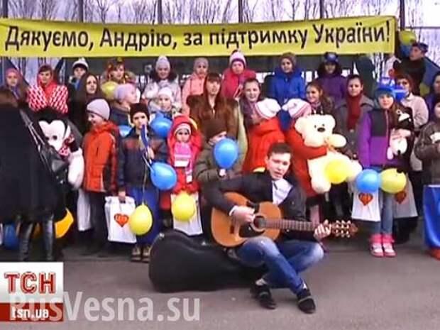 Макаревич отметил 8 марта, гастролируя по Украине   Русская весна