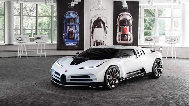 Продается еще не созданный Bugatti Centodieci