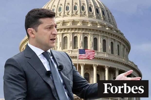 Forbes: Украина превращается в скелет в шкафу Белого дома