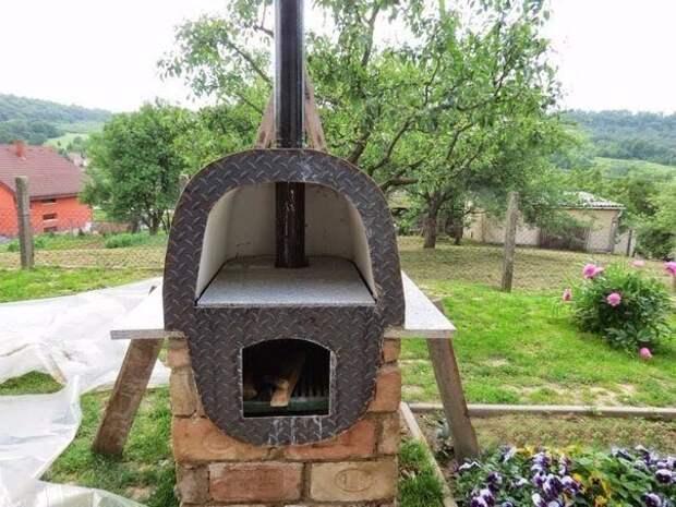 печка из старой ванны