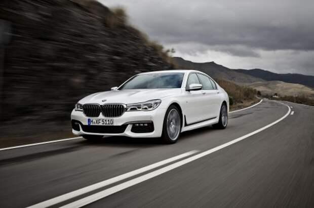 2016 BMW 7-й серии M Sport