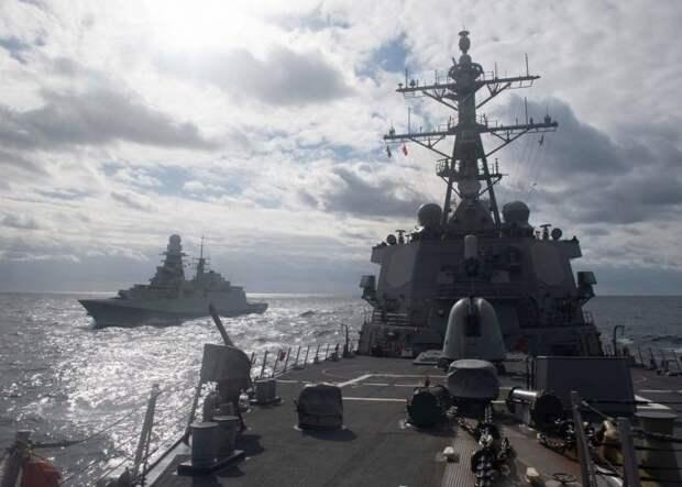 Западные эксперты: «Чёрное море - это русский «тир», а корабли ВМС США в нём - лёгкие мишени»