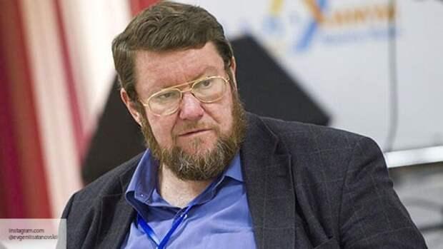 Сатановский заявил, что Украина  - это плацдарм для удара врагов по России