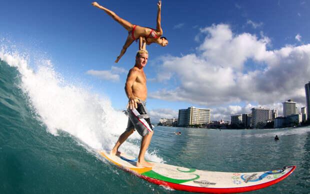 Тандем-сёрфинг