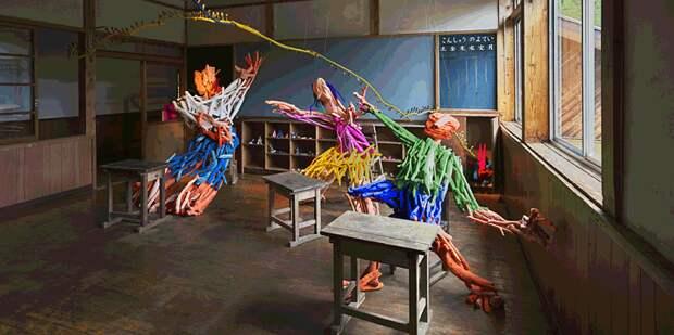 Потрясающие работы с крупнейшего в мире фестиваля искусств в Японии