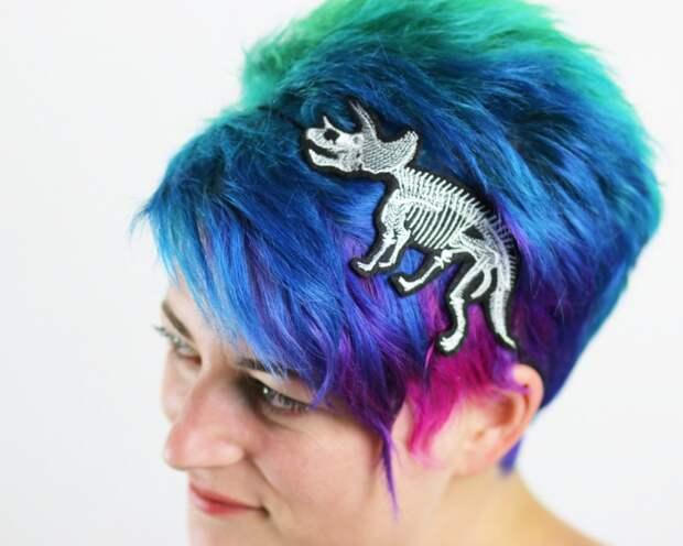 Динозавры на голове