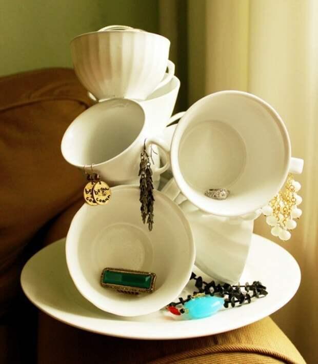 Органайзер из посуды