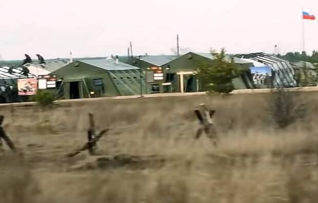 Журналисты из США скрытно засняли полевой лагерь российских военных вблизи Украины