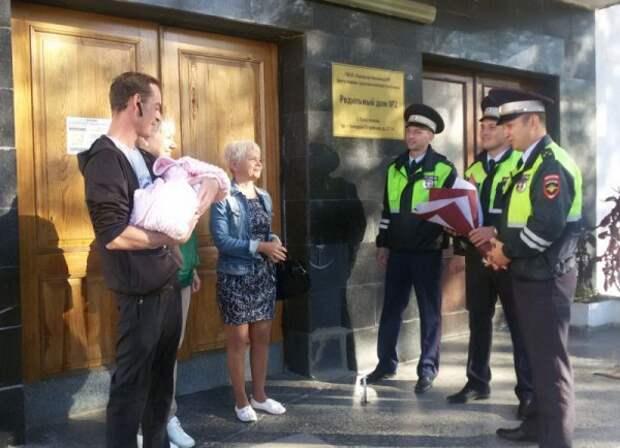 Если бы сотрудники Госавтоинспекции Севастополя не успели, то им пришлось бы принимать роды