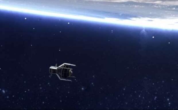 Почти Валл-и — как робот-камикадзе очистит космос от мусора (3 фото + видео)