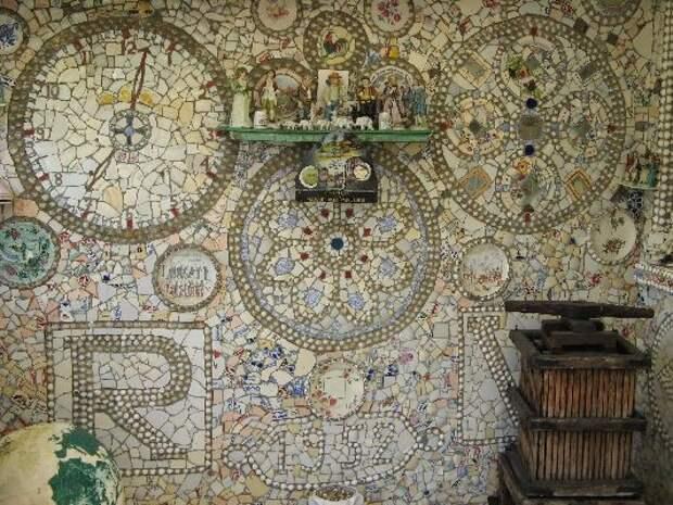 Дом Разбитой Посуды дом, посуда, своими руками, сделай сам